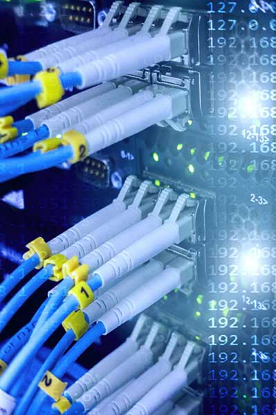 Fiber optic cables for data center
